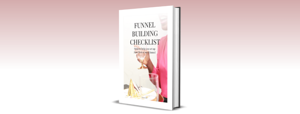 funnel building checklist